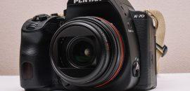 PENTAX K-70のファームウェアアップデートを「バージョン1.11」にしました。