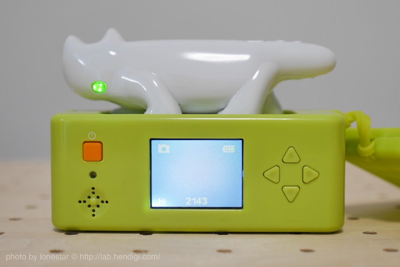 ネコノデジタルカメラ モニターグラウンド