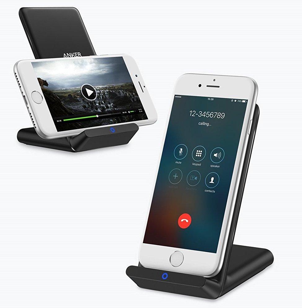 iPhone X ワイヤレス充電器 立てるタイプ