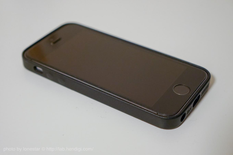 iPhone レザーケース SE