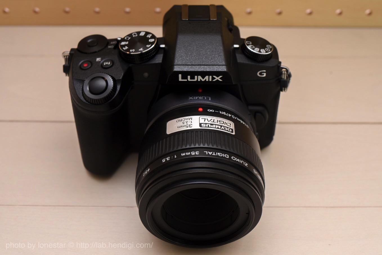 G8 ZUIKO DIGITAL 35mm F3.5 Macro