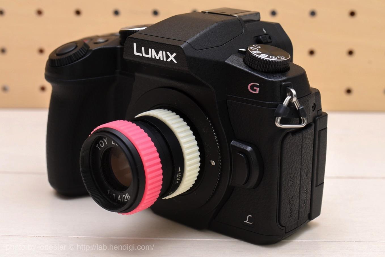 LUMIX DMC-G8 トイレンズ