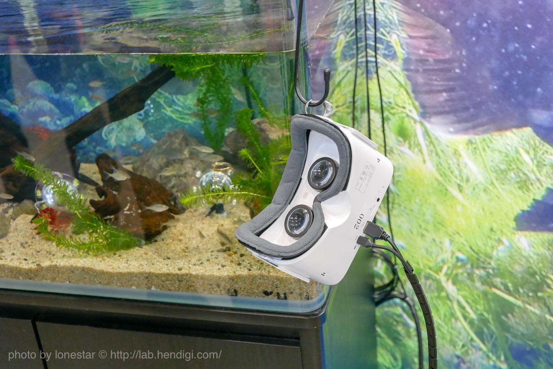 水中 VR 映像