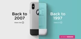 初代iMac、初代iPhoneをモチーフにしたiPhone X専用ケースをSpigenが発表!ポチりました!