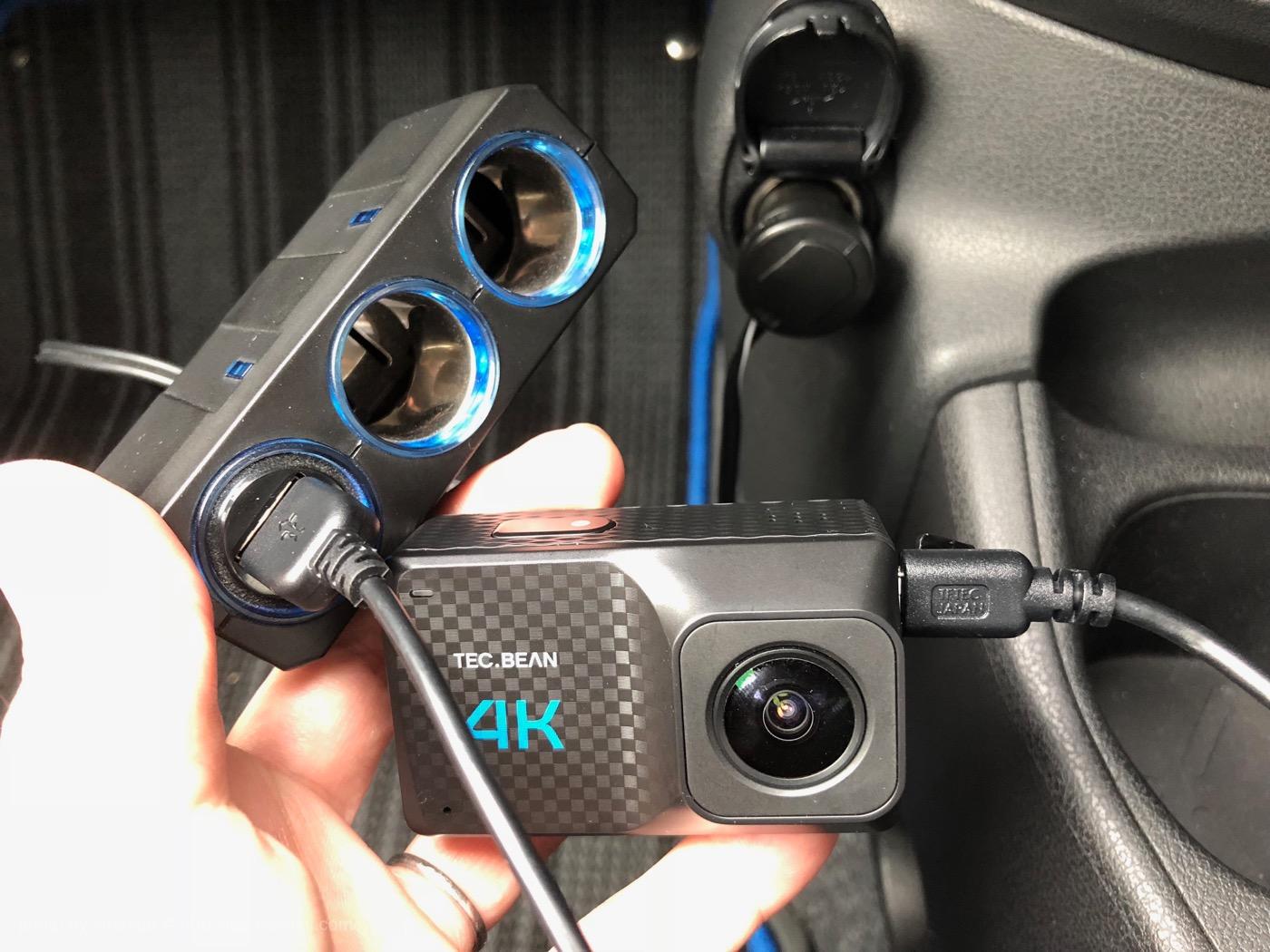 アクションカメラ ドライブレコーダー機能