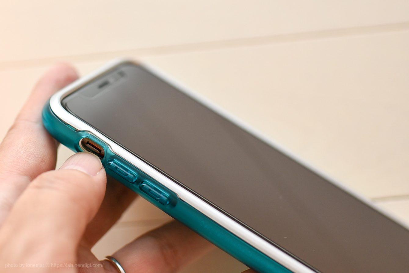 iPhoneケース サイレントスイッチ