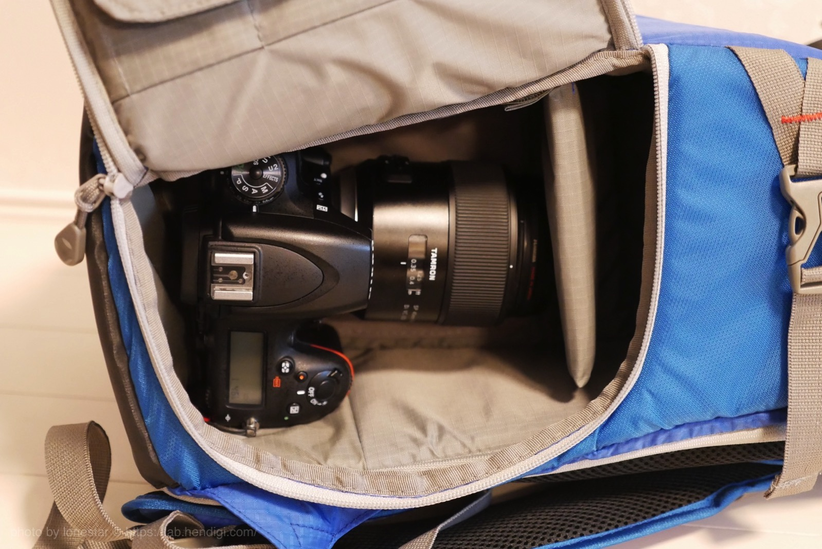 Amazon カメラリュック レビュー