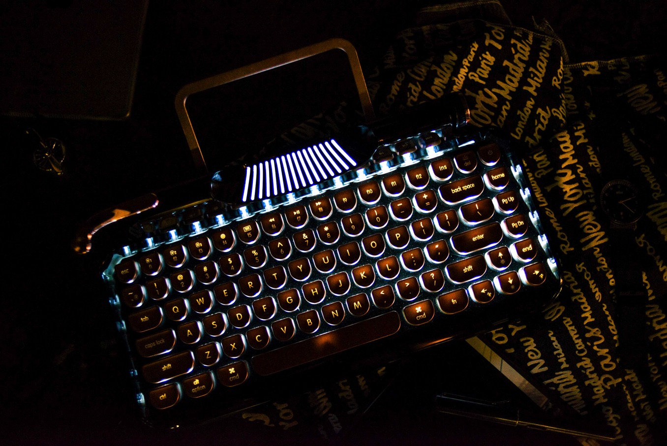 キーボード バックライト機能