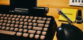 まるでタイプライター!レトロデザインが可愛いBluetoothメカニカルキーボード「Rymek」レビュー
