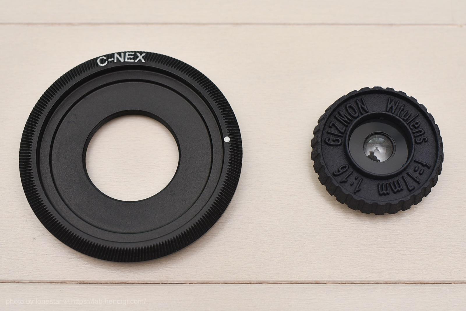 Cマウント NEX レンズ