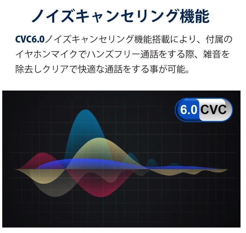 CVC6.0 ノイズキャンセリング機能