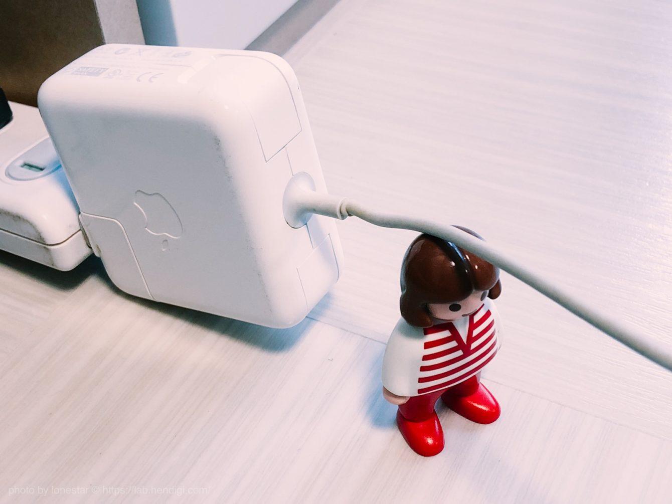 MacBook Air 電源ケーブル