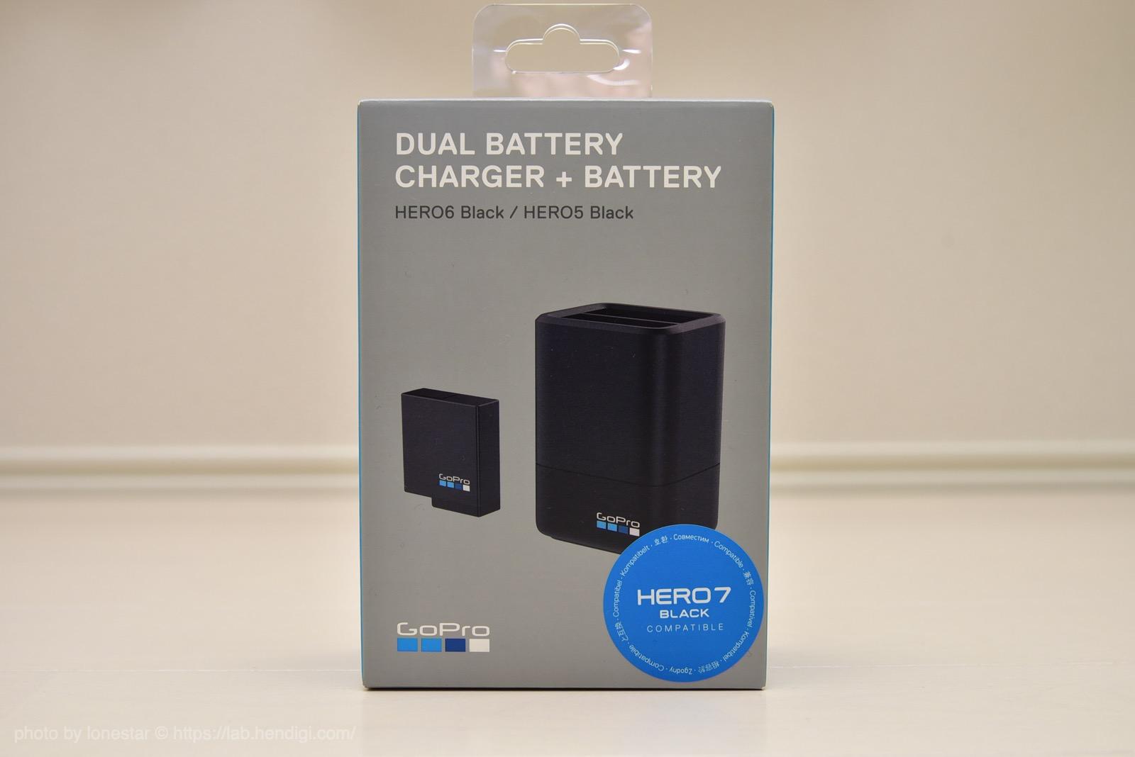 GoPro 充電器 レビュー