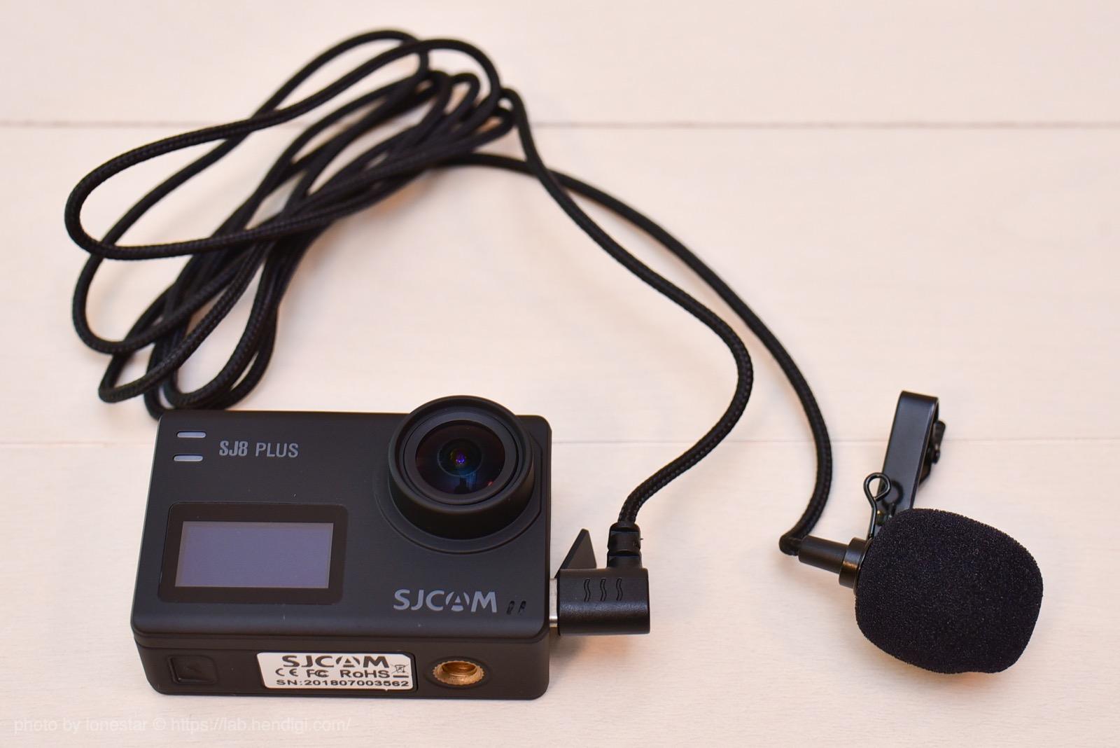 SJCAM アクションカメラ マイク
