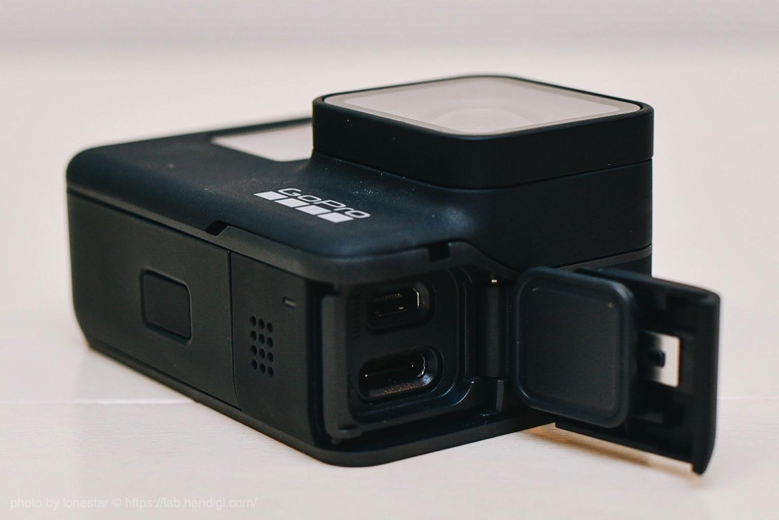 GoPro7 サイド