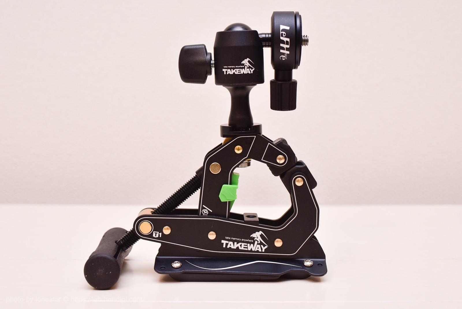 カメラクランプ