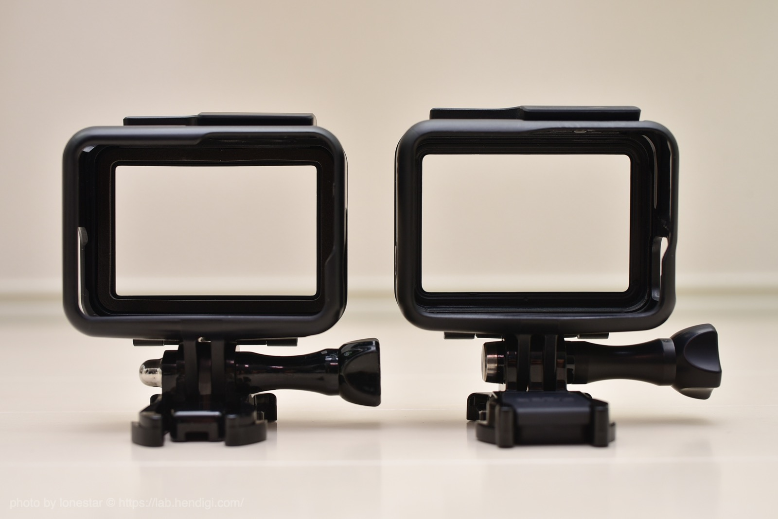 GoPro フレームケース 比較