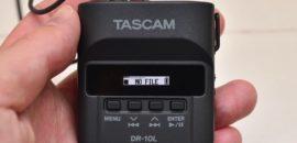 TASCAM DR-10L:手のひらサイズのピンマイクレコーダーはYouTuberにオススメ!(レビュー動画もあります)