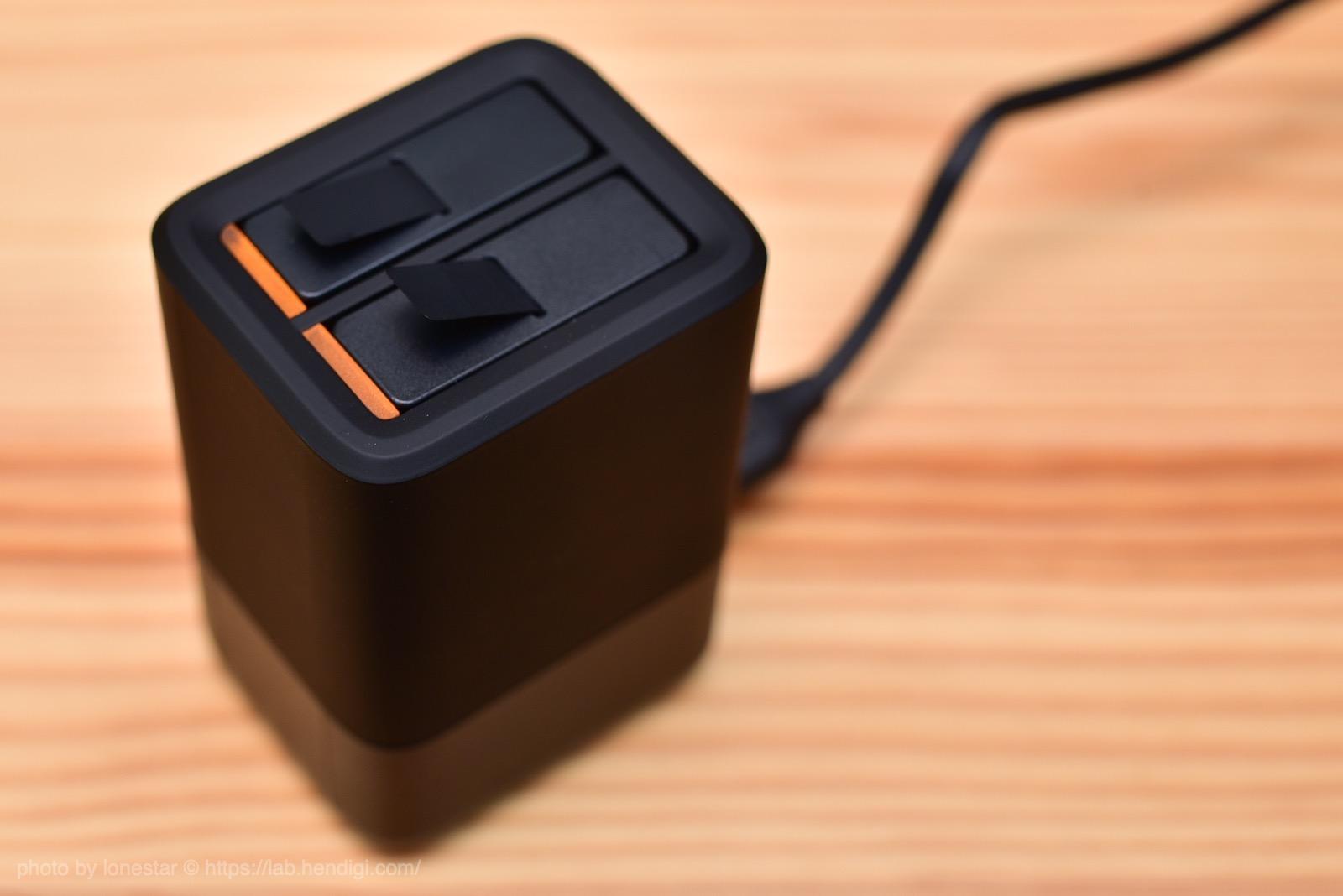 GoPro バッテリーチャージャー