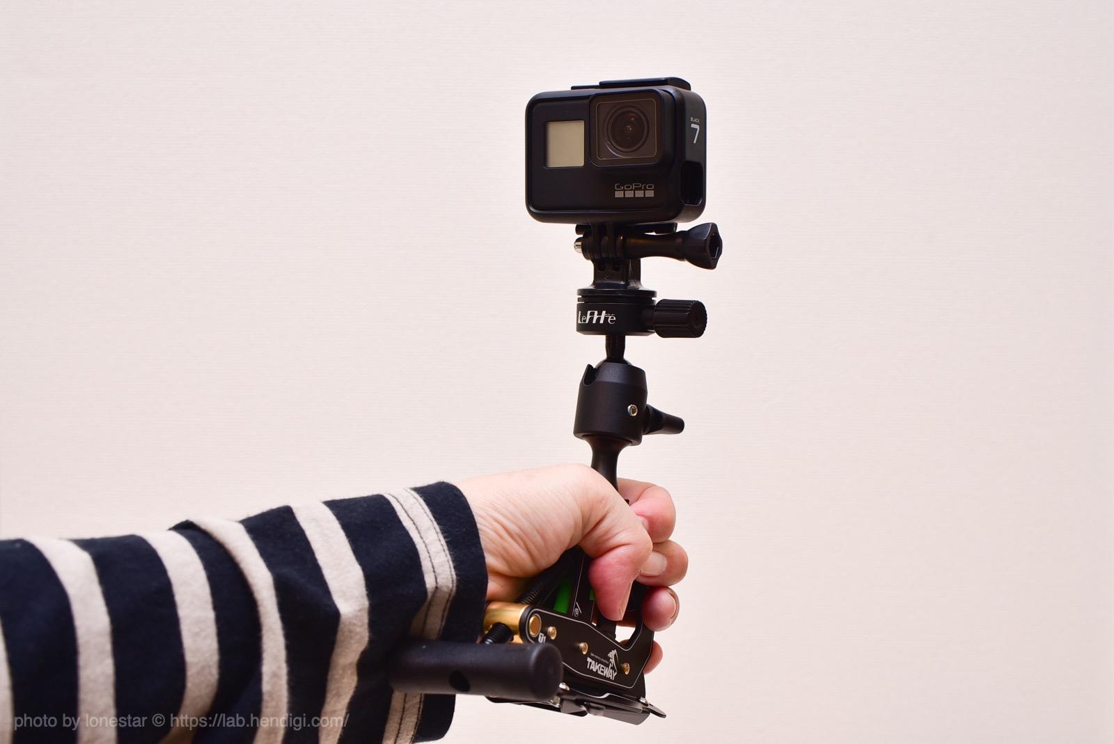 GoPro 自撮り棒 三脚