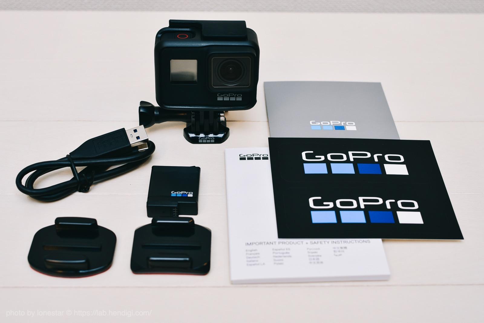 GoPro7 ブラック 内容