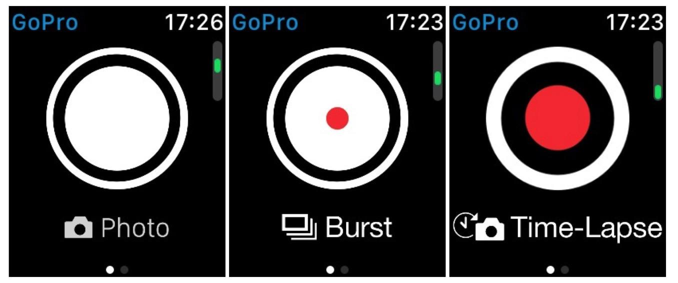 GoPro アップルウォッチ 撮影