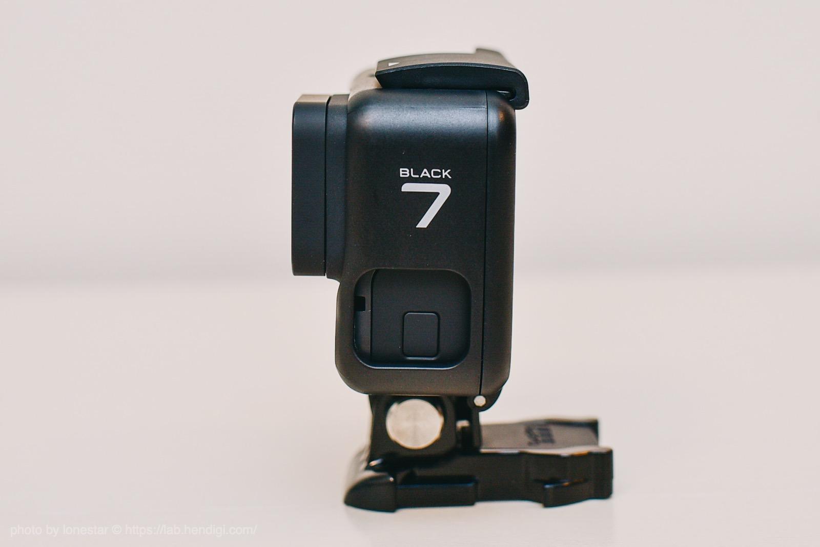GoPro7 ブラック 外観