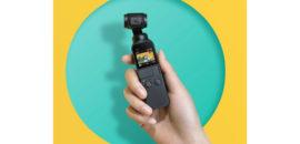 【可愛い】 OSMO POCKET:3軸スタビライザー付き超小型4KカメラがDJIから登場!