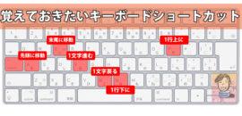 ライターを目指すMacユーザーなら覚えておきたいキーボードショートカット一覧