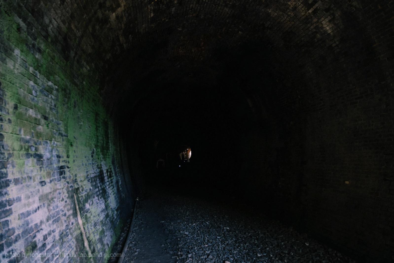 愛岐トンネル 懐中電灯
