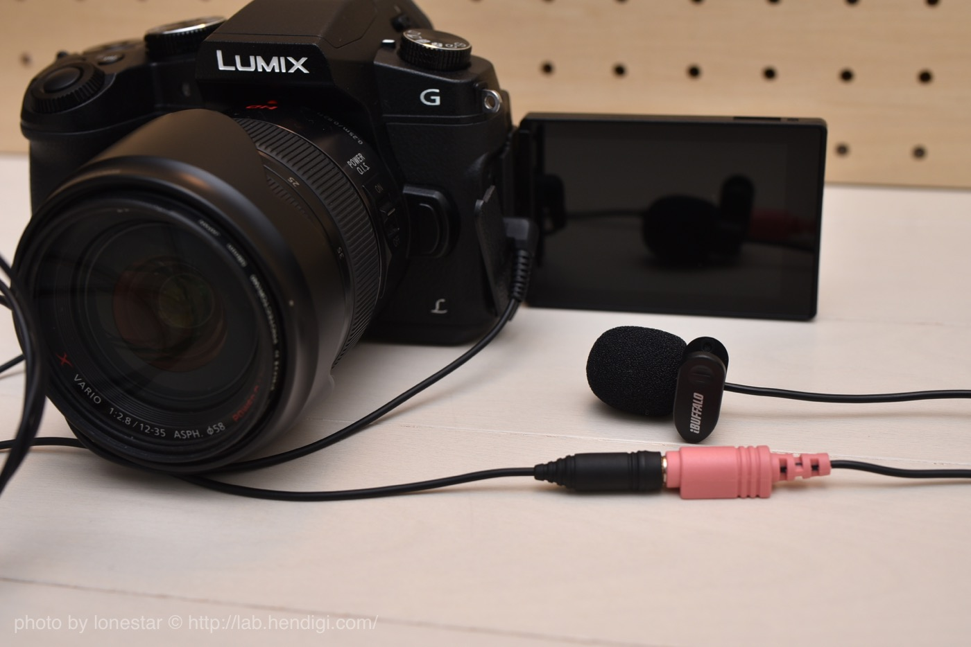 LUMIX DMC-G8 自撮り