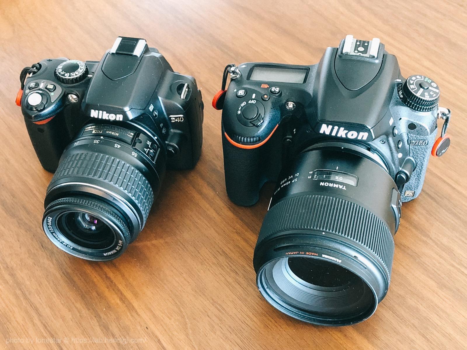NIKON D750 D40