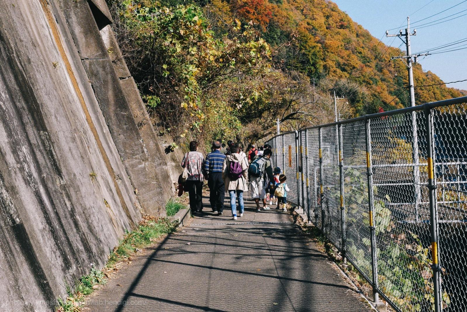 愛岐トンネル 徒歩