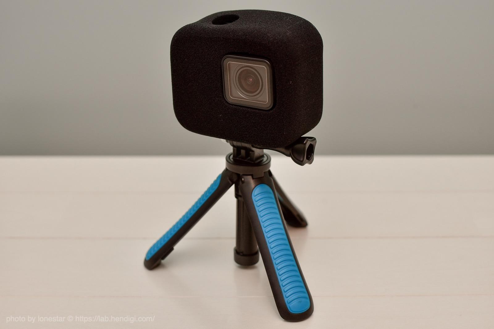 GoPro7 風切り音 スポンジカバー