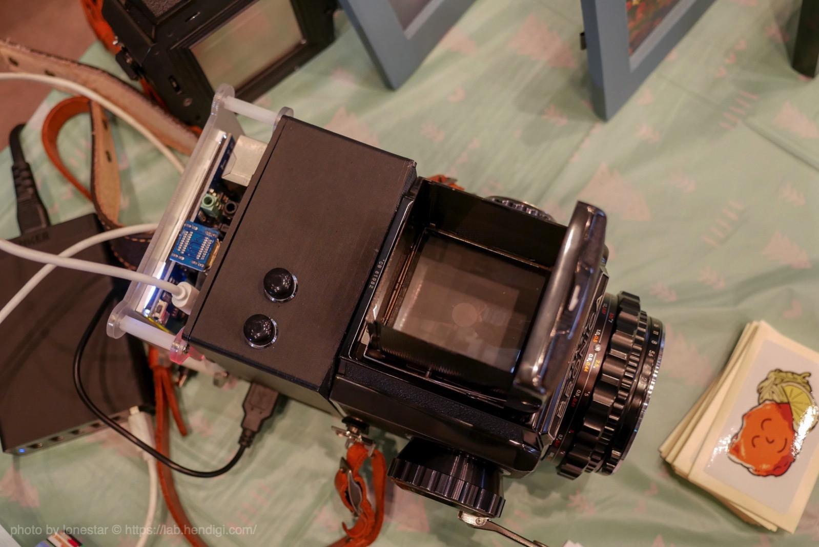 中判フィルムカメラ デジカメ化