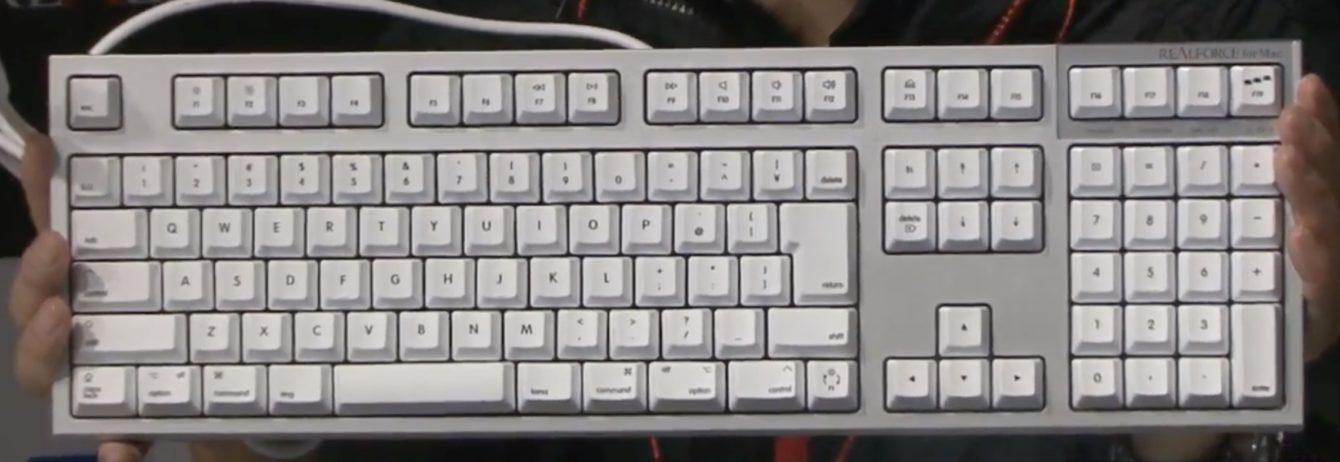 リアルフォース Mac