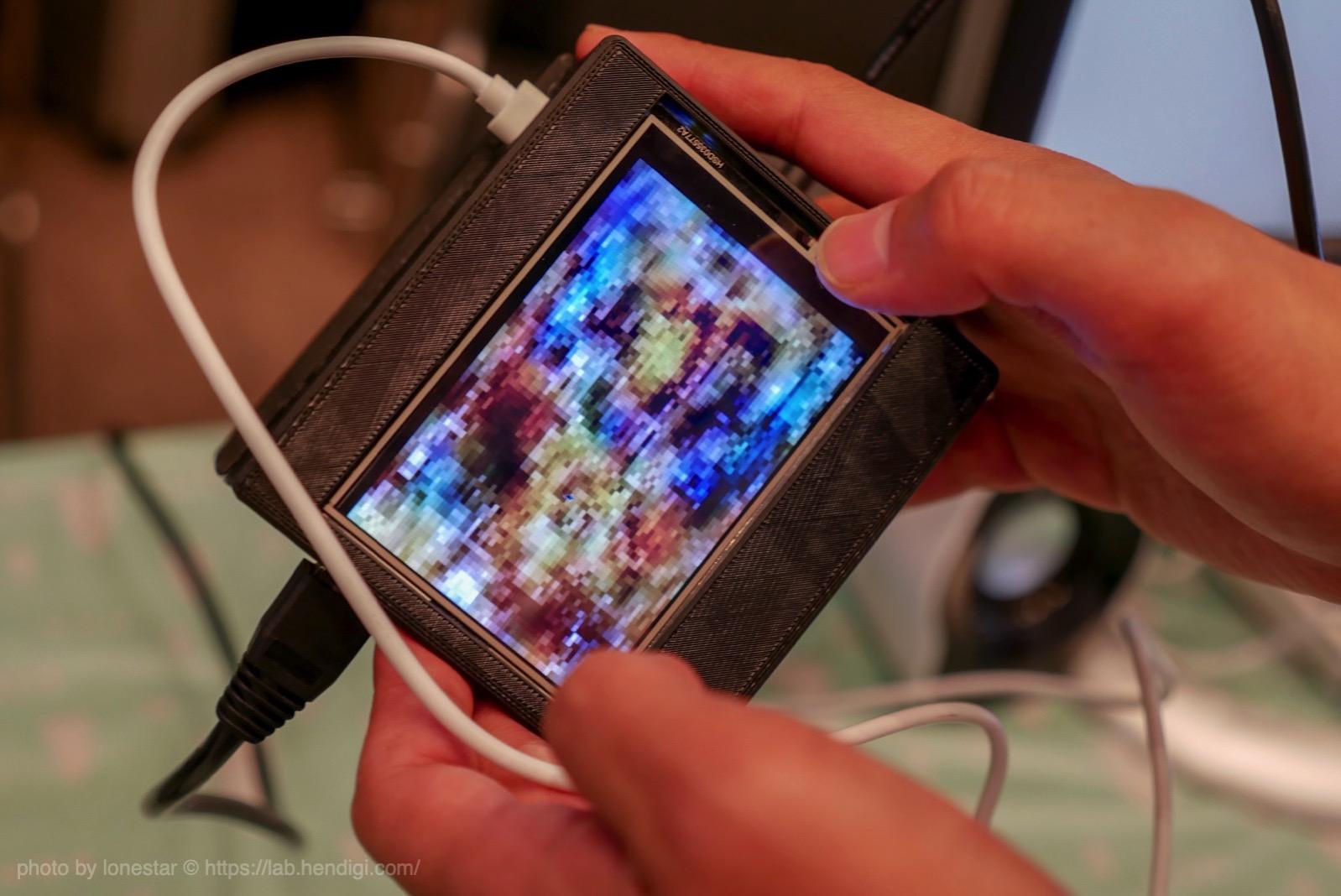 ディープラーニング  カメラ
