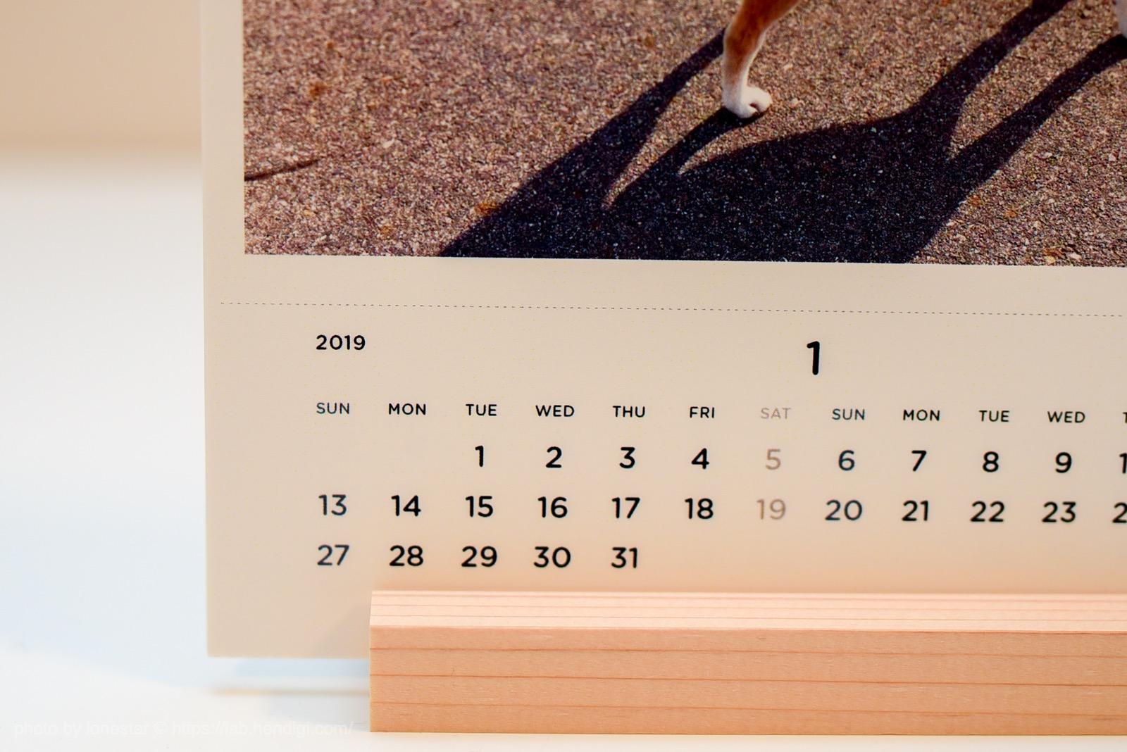 ZOZOTOWN フォトカレンダー レビュー