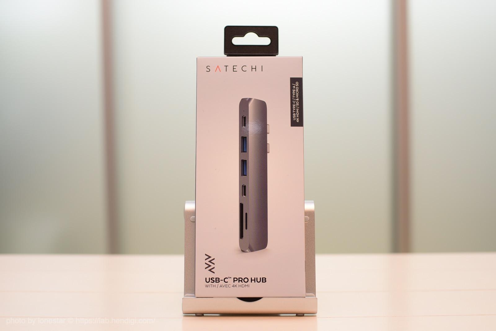 SATECHI USB-C PRO HUB レビュー