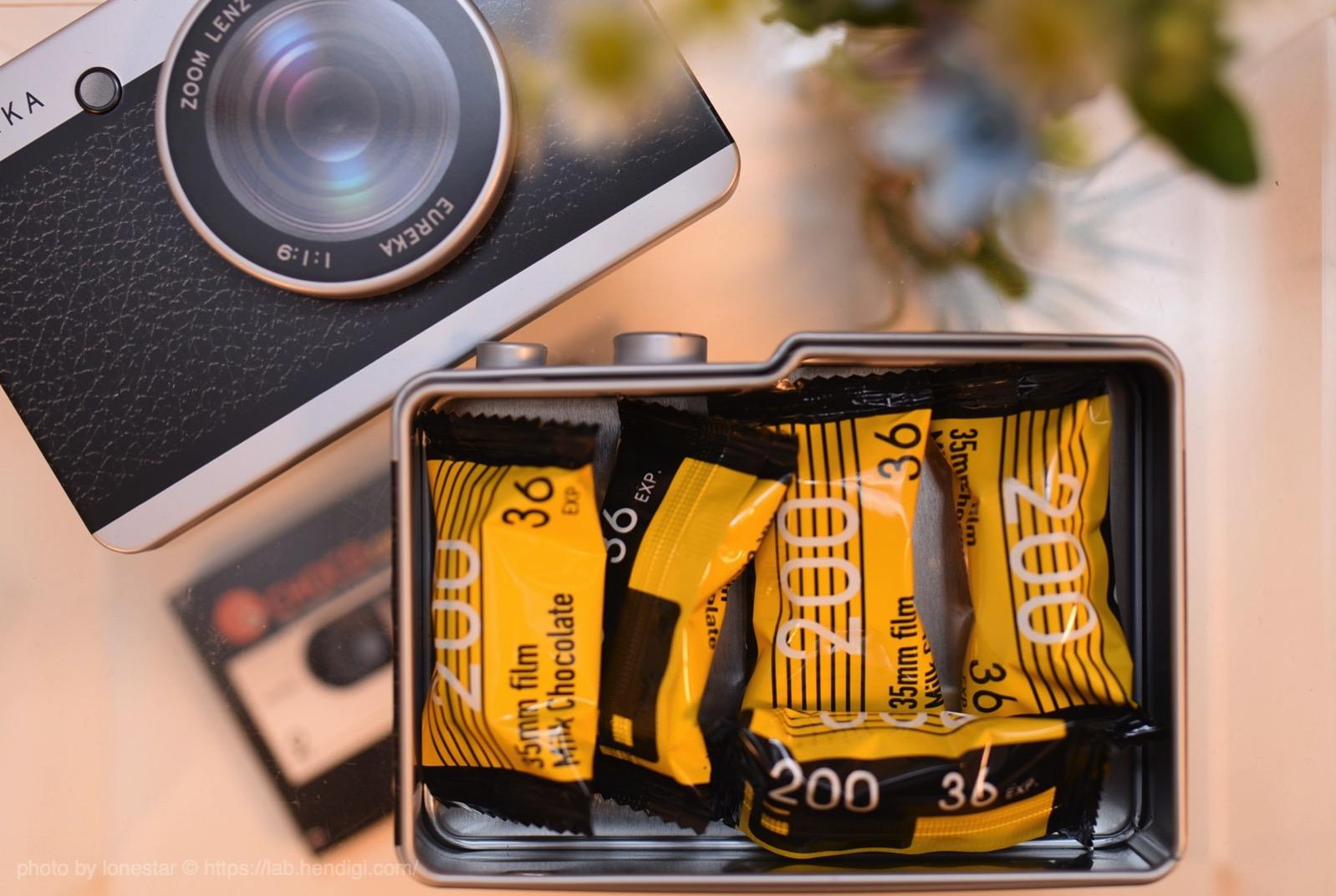 カルディ カメラ缶