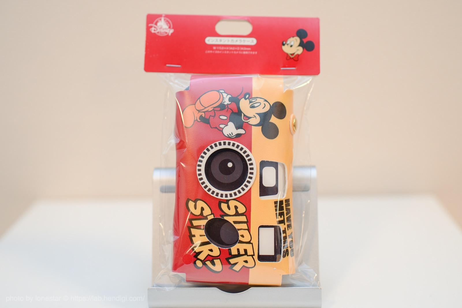 カメラケース インスタントカメラ用 ミッキー&ドナルド