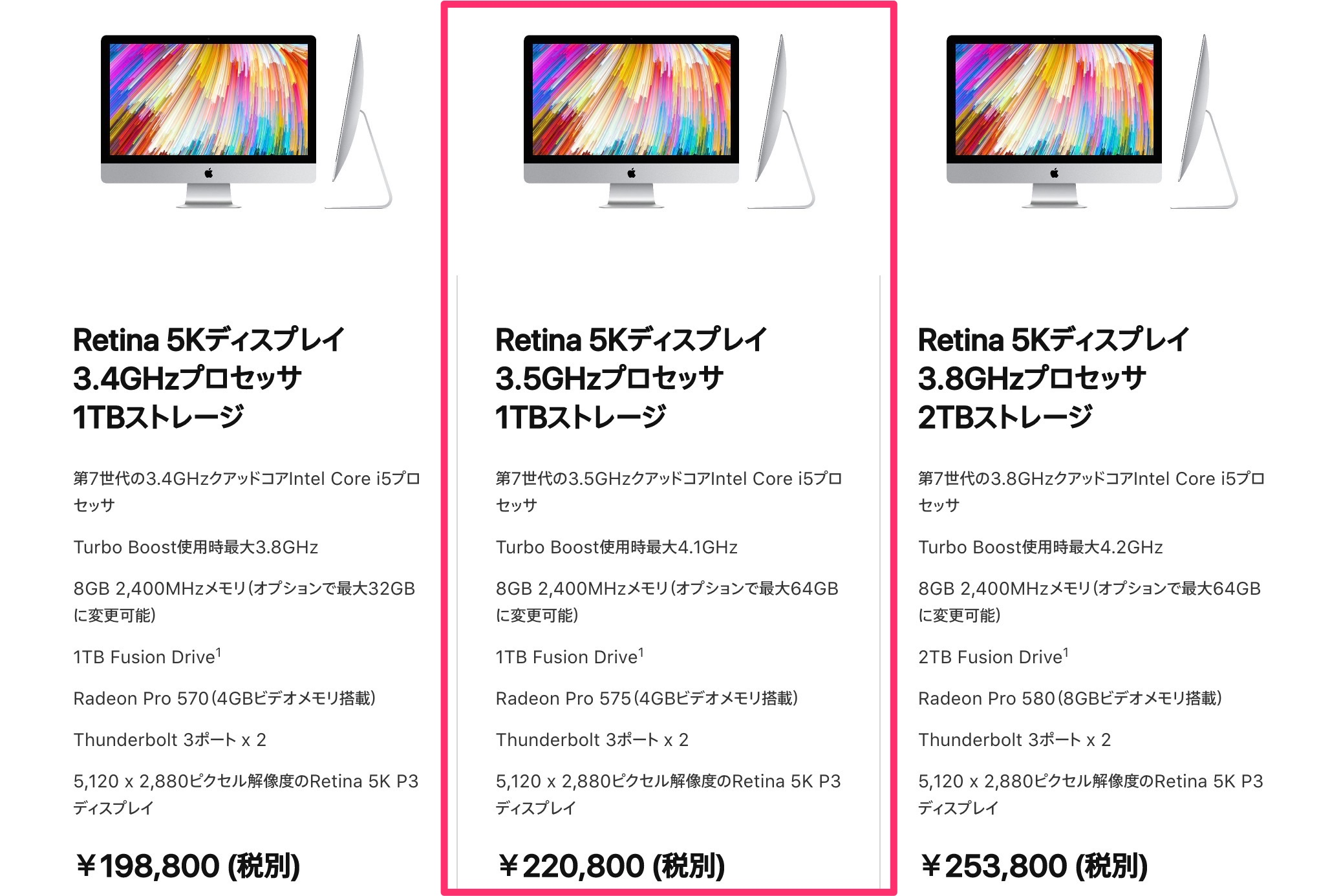iMac 2017 27インチ