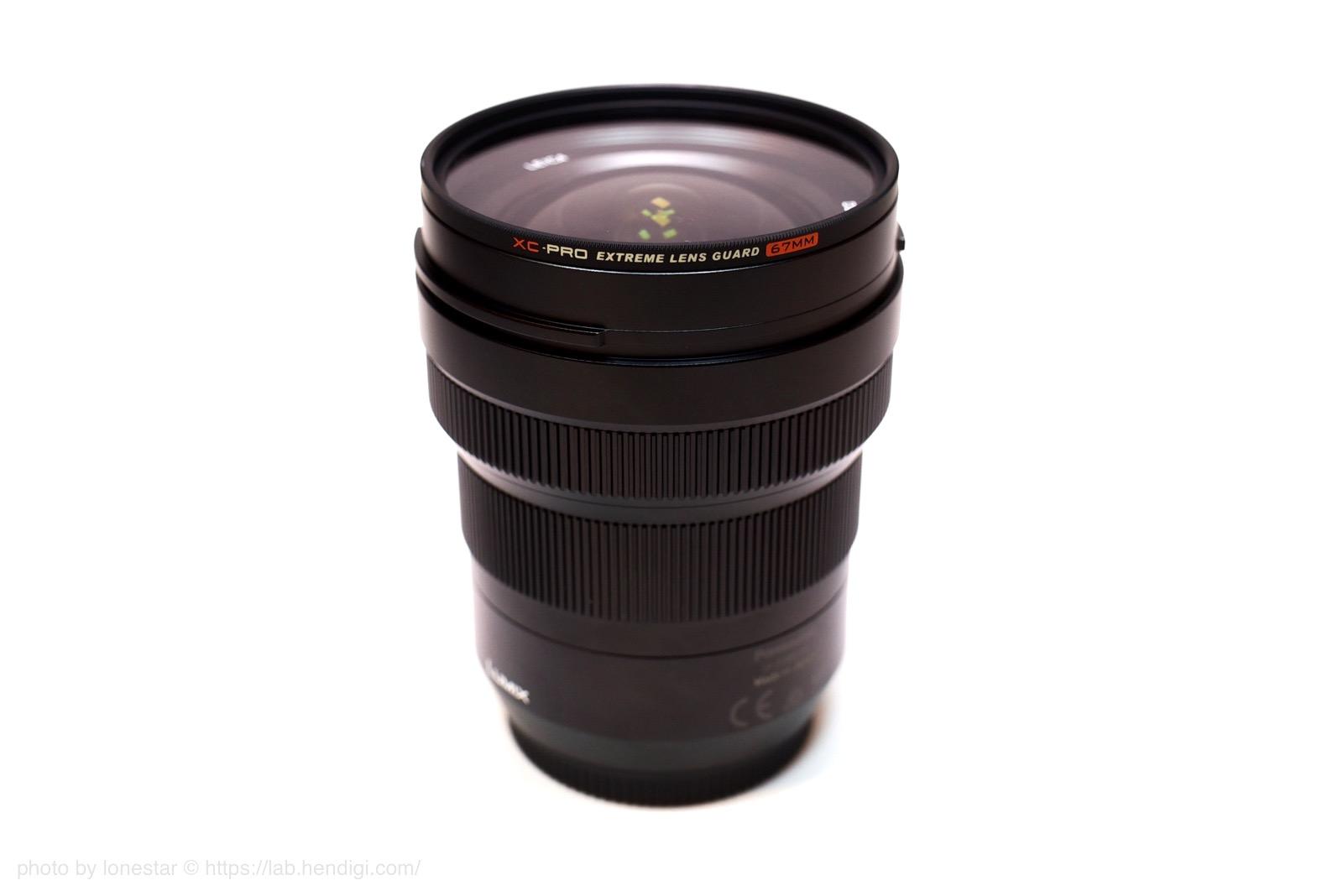 Panasonic LEICA DG VARIO-ELMARIT 8-18mm / F2.8-4.0 ASPH. フィルター