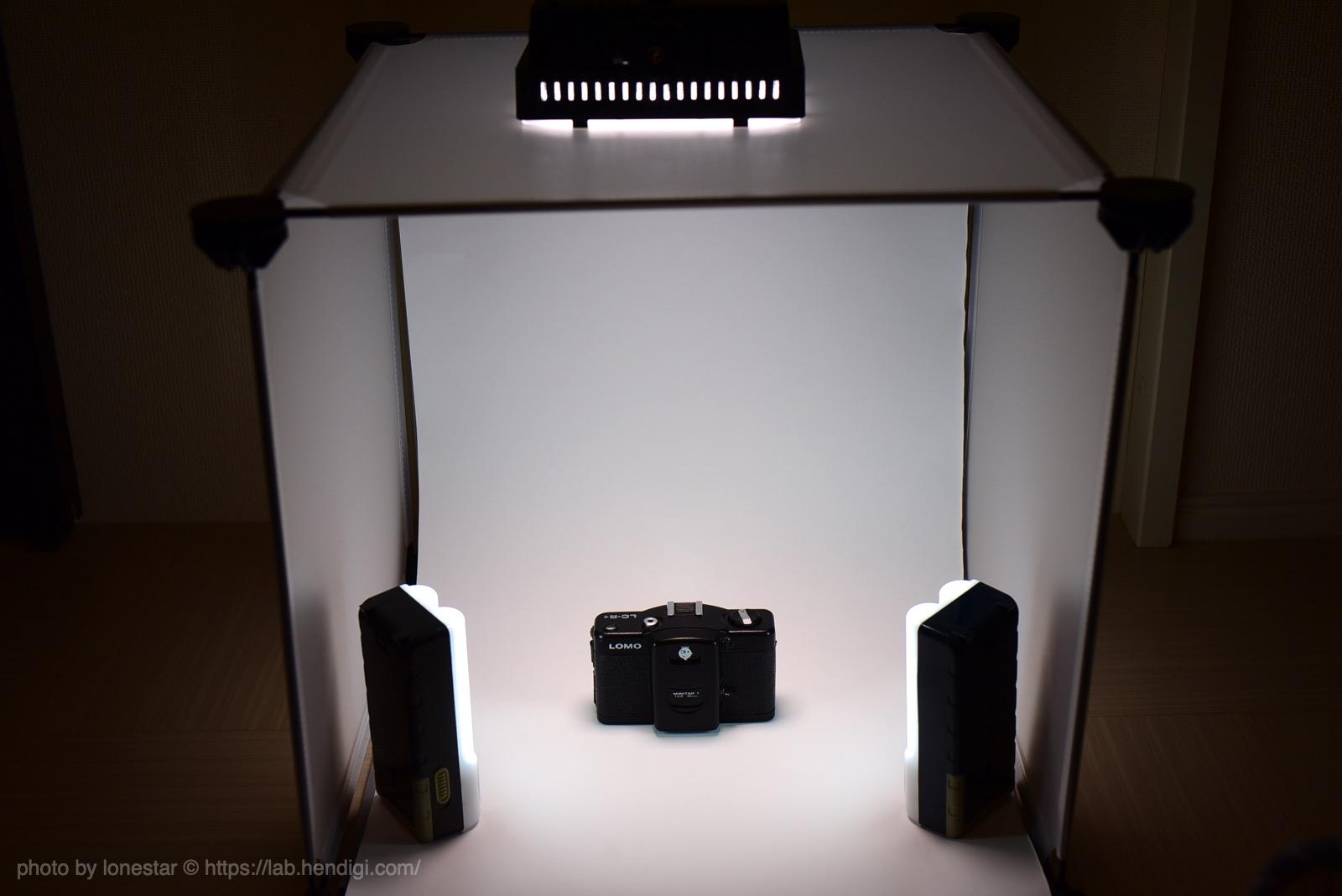 撮影ボックス 自作
