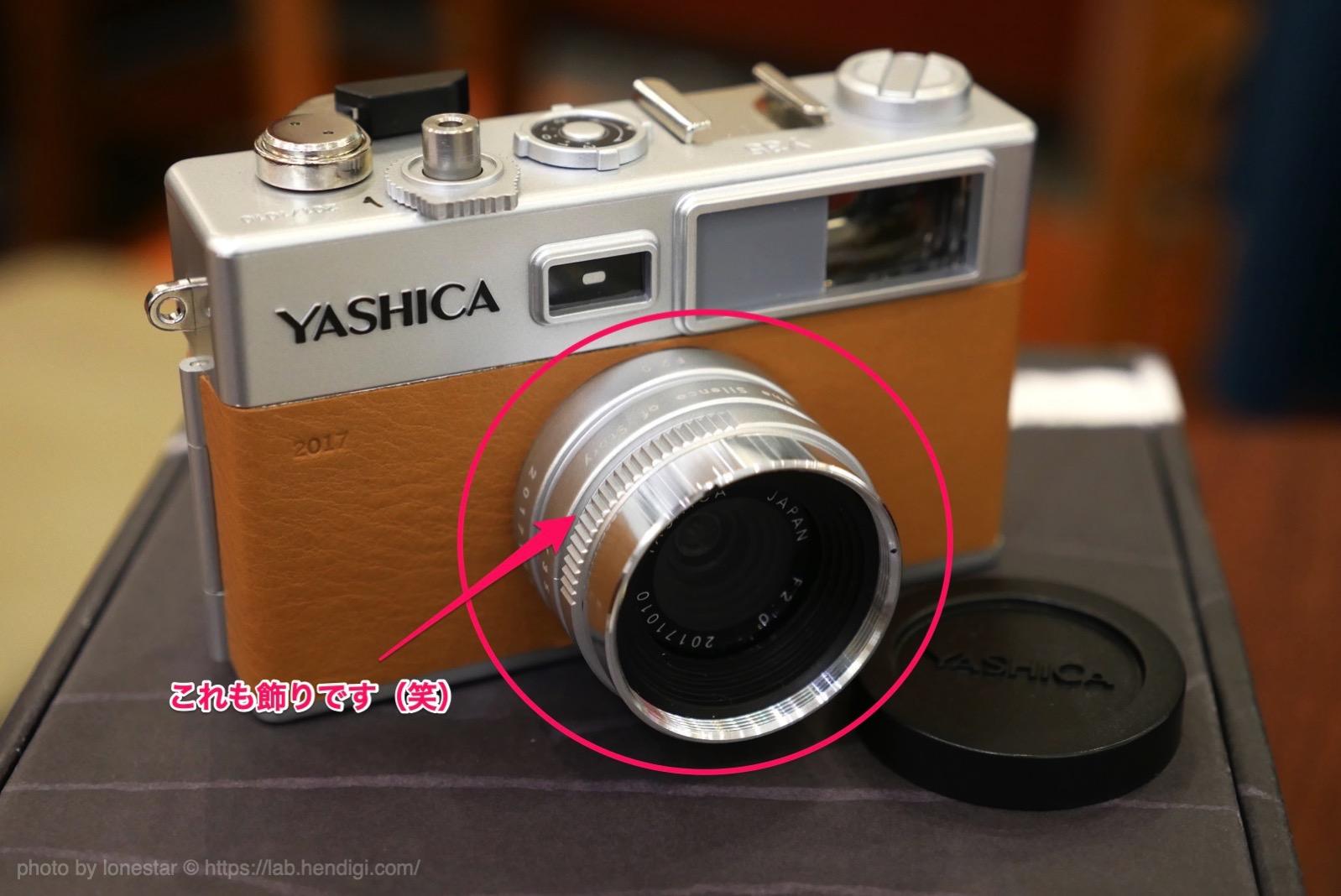 ヤシカ Y35 レビュー