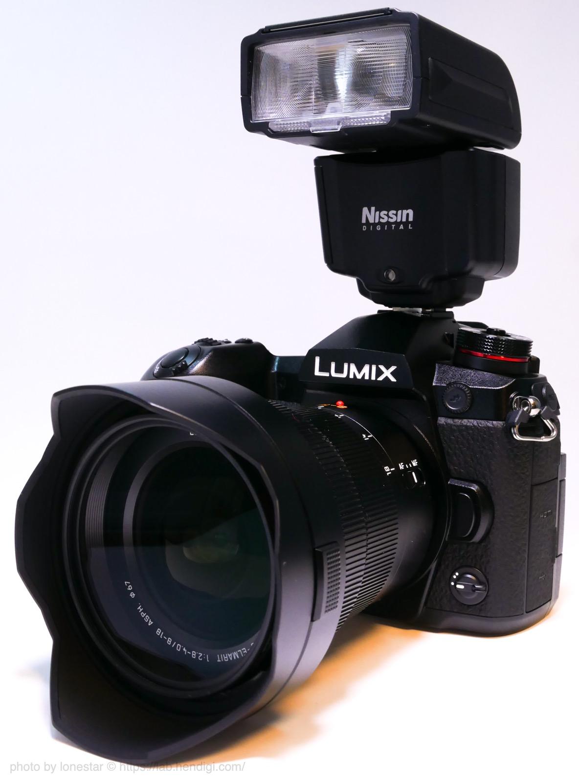 LUMIX G9 PRO フラッシュ