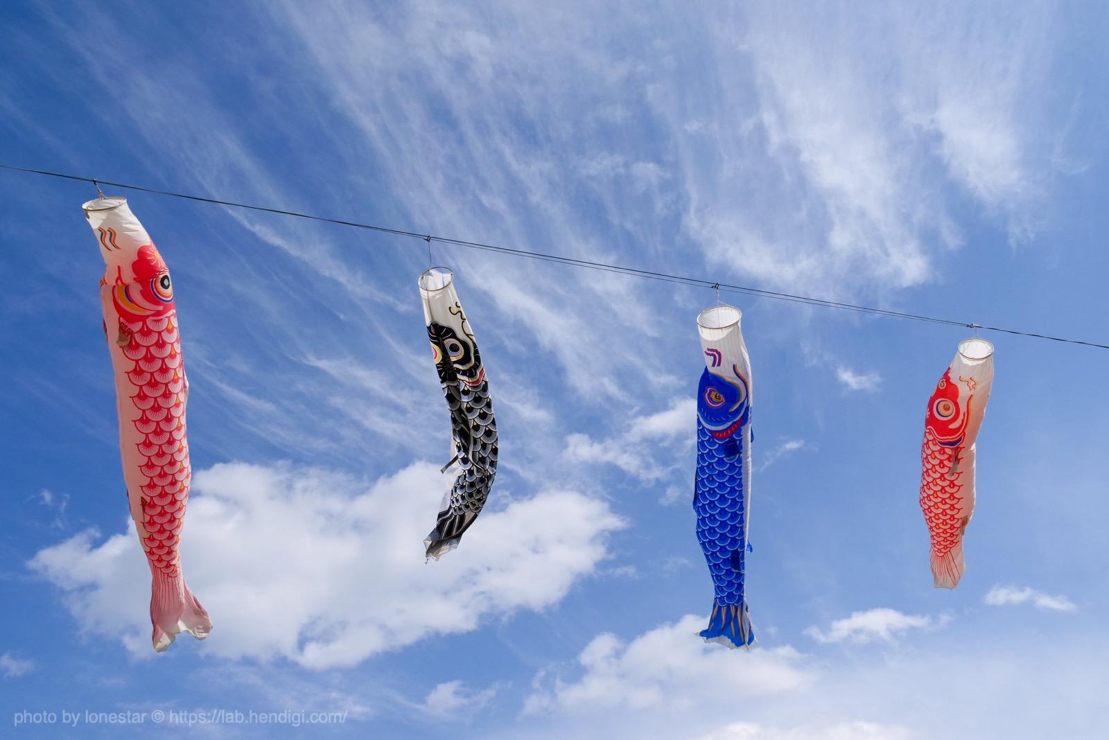 垂井町 鯉のぼり イベント