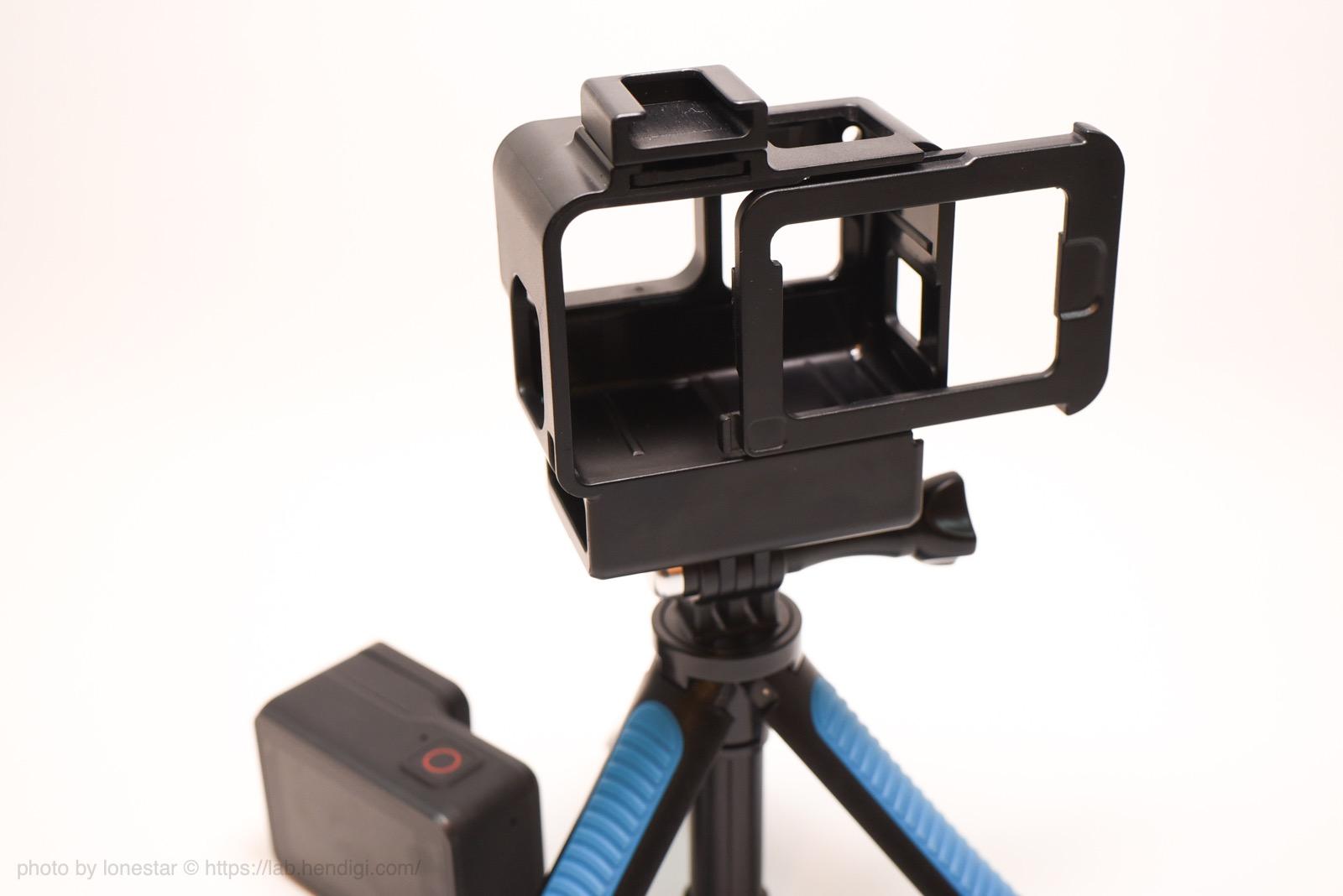 GoPro HERO7 Black マイク ケース