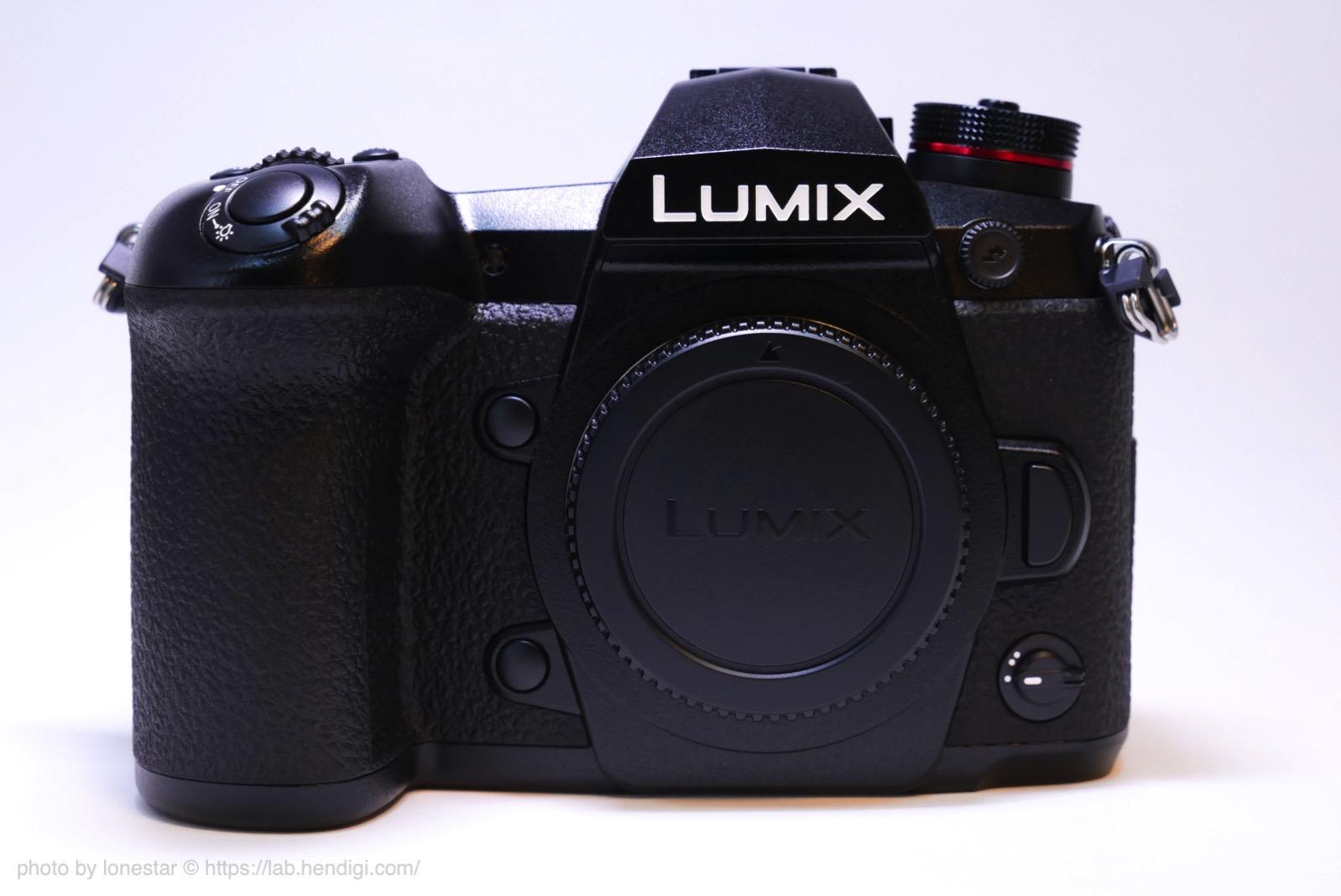 LUMIX G9 PRO 外観