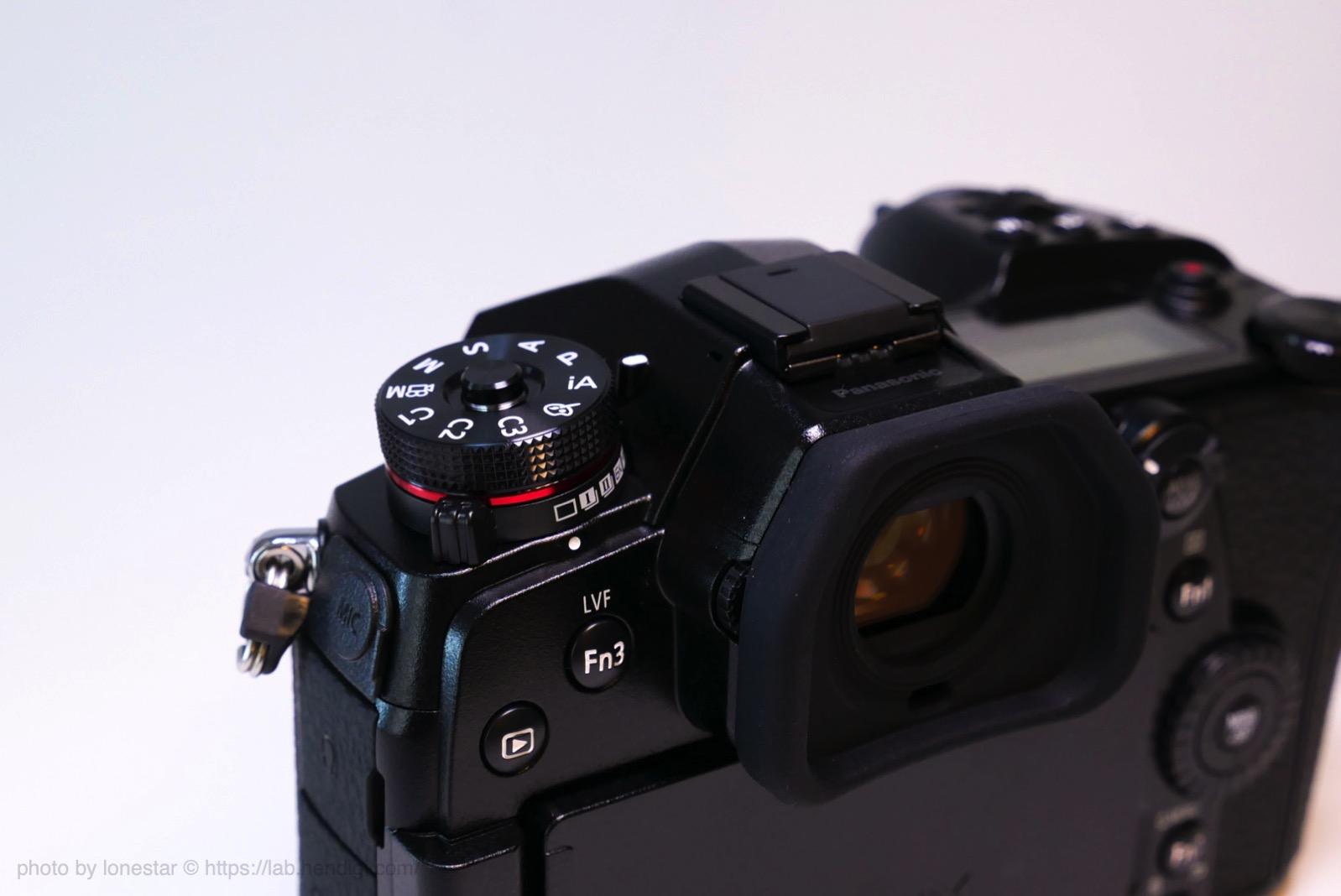 LUMIX G9 PRO モードダイヤル